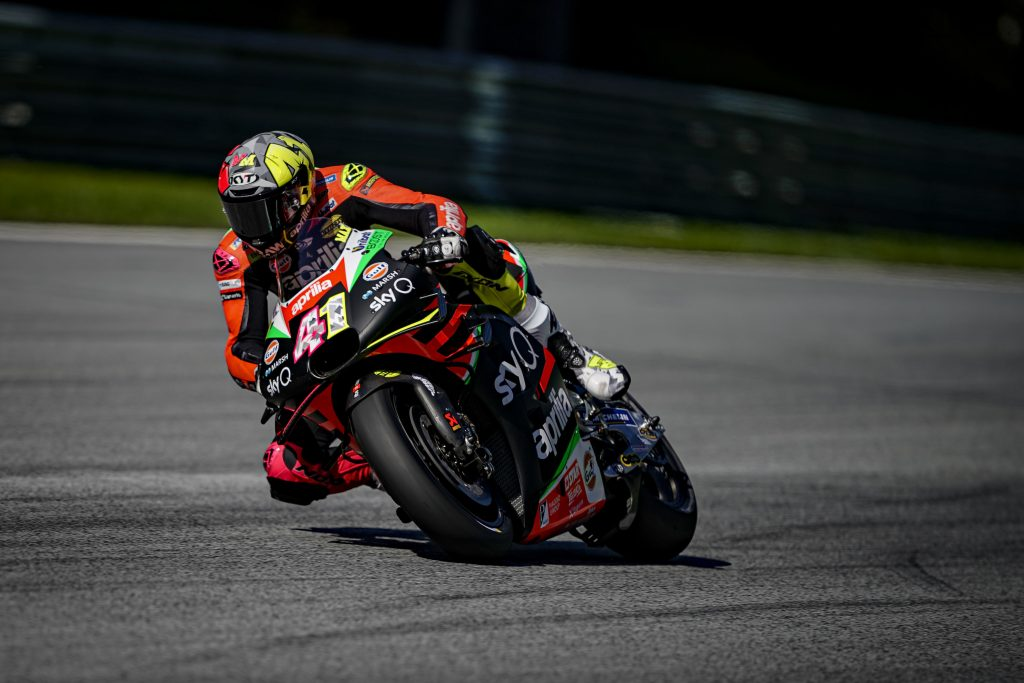 LOTS OF RACE PREPARATION WORK STRAIGHT AWAY FOR ALEIX AND ANDREA ON THE FIRST DAY OF PRACTICE AT THE RED BULL RING - Gresini Racing