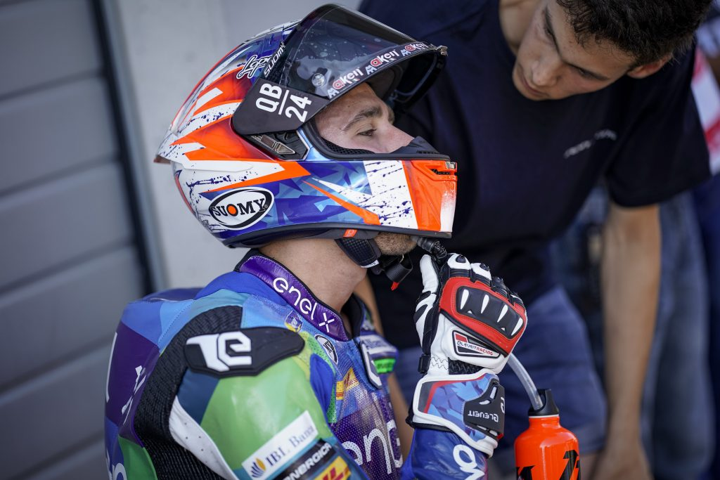 #AUSTRIANGP E-POLE: FERRARI SEVENTH, SAVADORI ON FOURTH ROW   - Gresini Racing