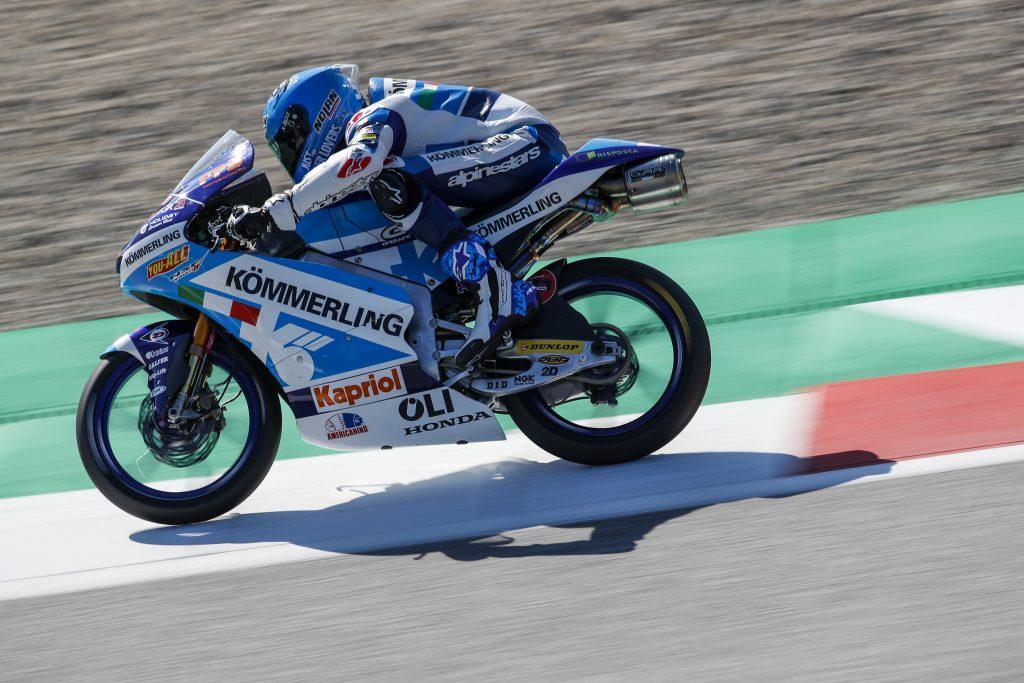 IL TEAM KÖMMERLING GRESINI MOTO3 DALL'OTTAVA FILA IN AUSTRIA CON ALCOBA - Gresini Racing