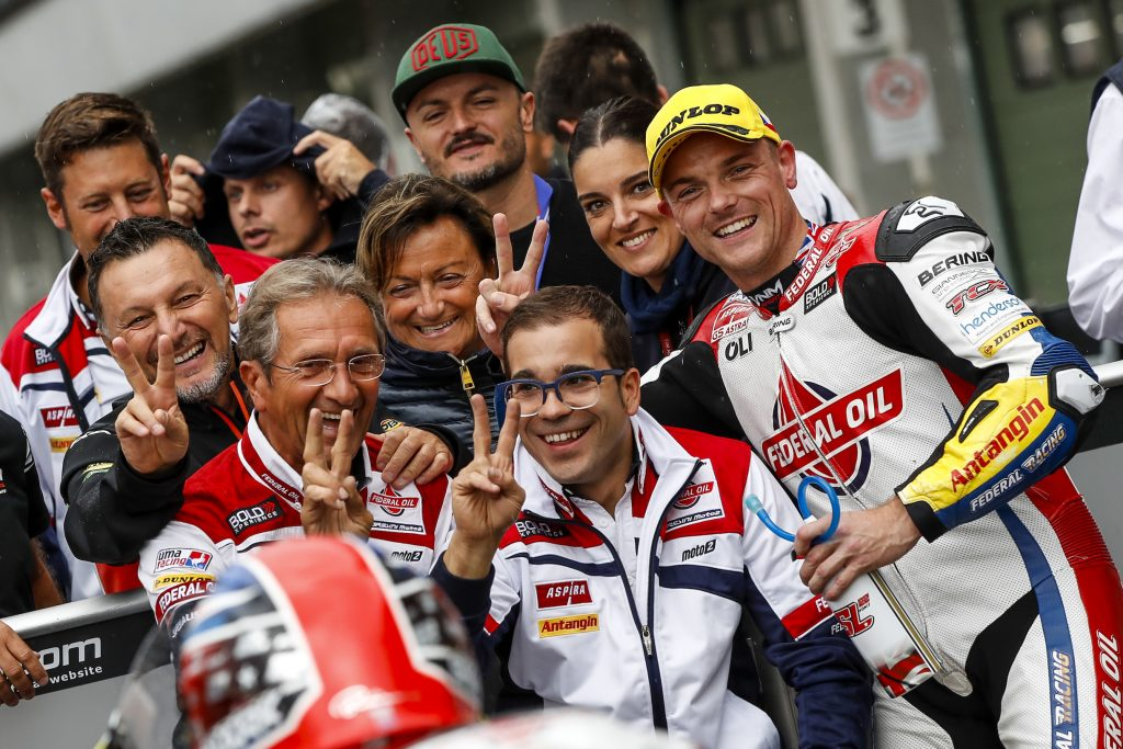 PRIMA FILA ANCHE A BRNO PER SAM LOWES - Gresini Racing