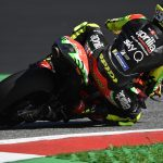 THE NEW ASPHALT ON THE SILVERSTONE CIRCUIT IS ANOTHER TEST BENCH FOR THE APRILIA RACING TEAM GRESINI
