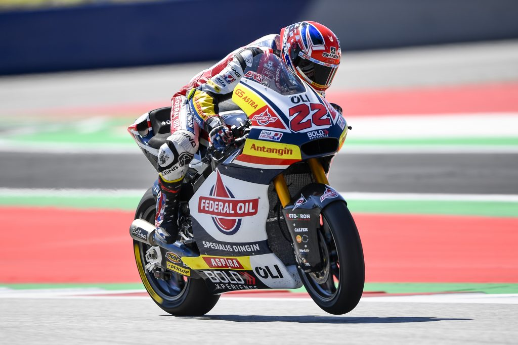 LIBERE AUSTRIACHE IN SALITA PER SAM LOWES - Gresini Racing