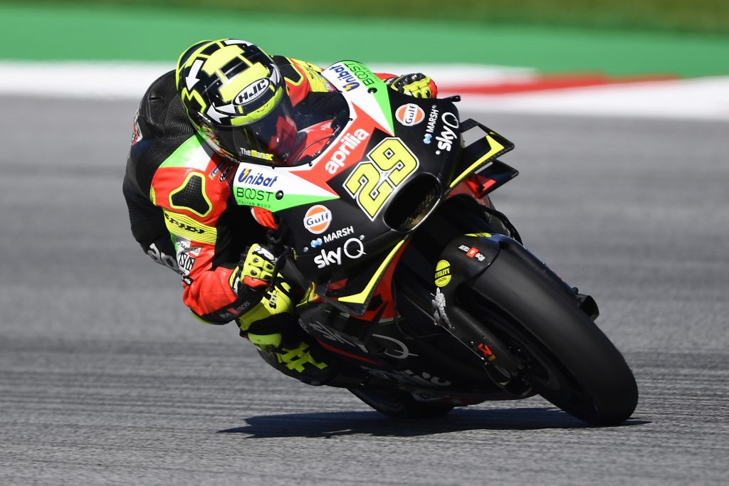 QUALIFIERS BELOW EXPECTATIONS IN AUSTRIA, BUT THE APRILIA RS-GP IS EFFECTIVE OVER RACE DISTANCE - Gresini Racing