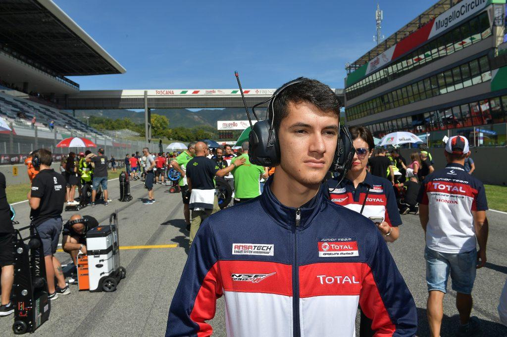 TACCINI RIMONTA E CADUTA AL MUGELLO   - Gresini Racing