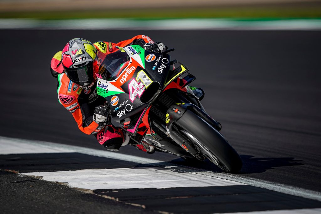 APRILIA HEADS FOR ITS SECOND HOME RACE AFTER TWO DAYS OF TESTING - Gresini Racing