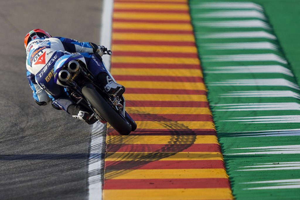 SABATO AMARO PER IL TEAM KÖMMERLING GRESINI MOTO3 AD ARAGON   - Gresini Racing