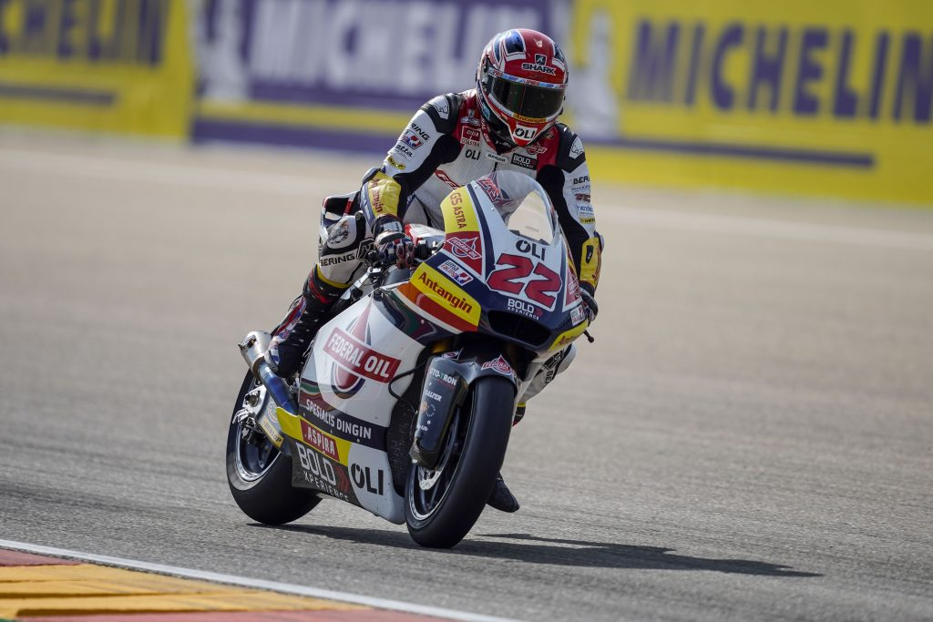 LOWES AMONG THE LEADERS IN FREE PRACTICE AT ALCAÑIZ - Gresini Racing