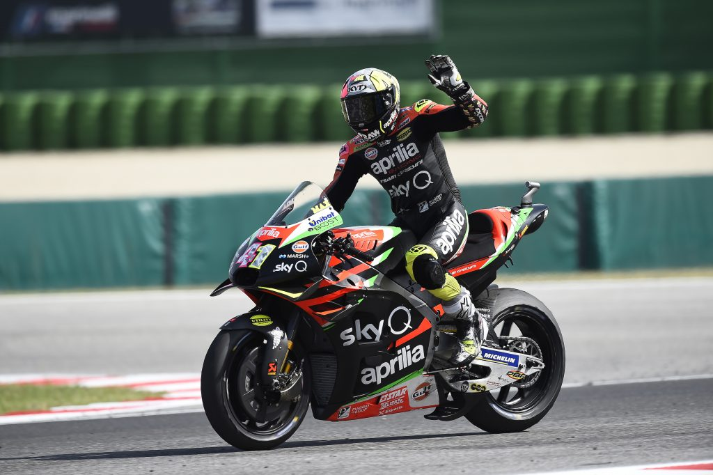 DEALING WITH POOR GRIP, ALEIX TAKES NO RISKS AND BRINGS HOME TWELFTH PLACE - Gresini Racing