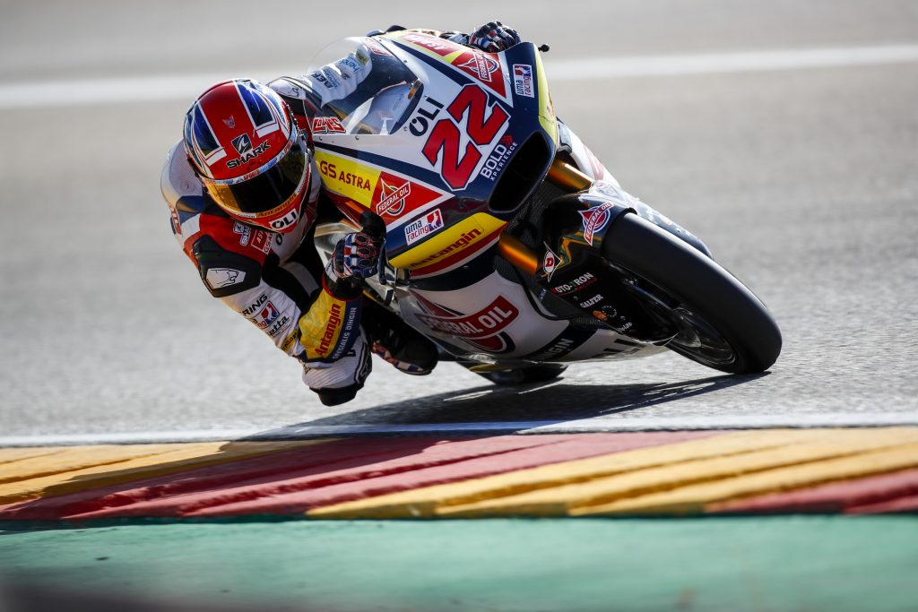 LOWES BACK IN FIFTH PLACE AT ARAGON - Gresini Racing