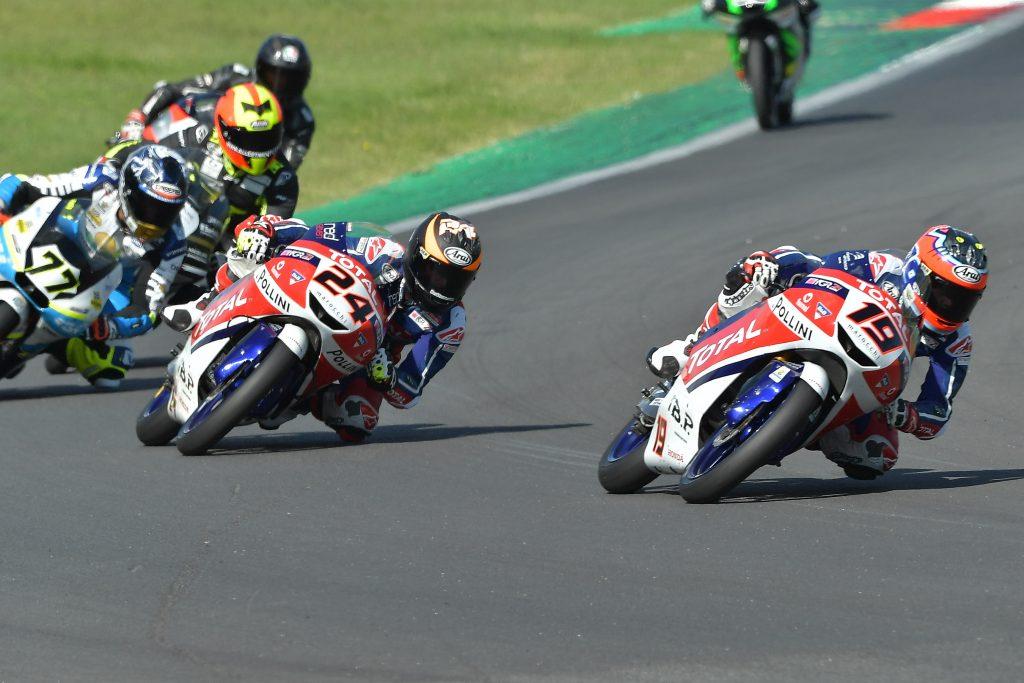VALLELUNGA RACE1: TOP10 PER MOROSI   - Gresini Racing
