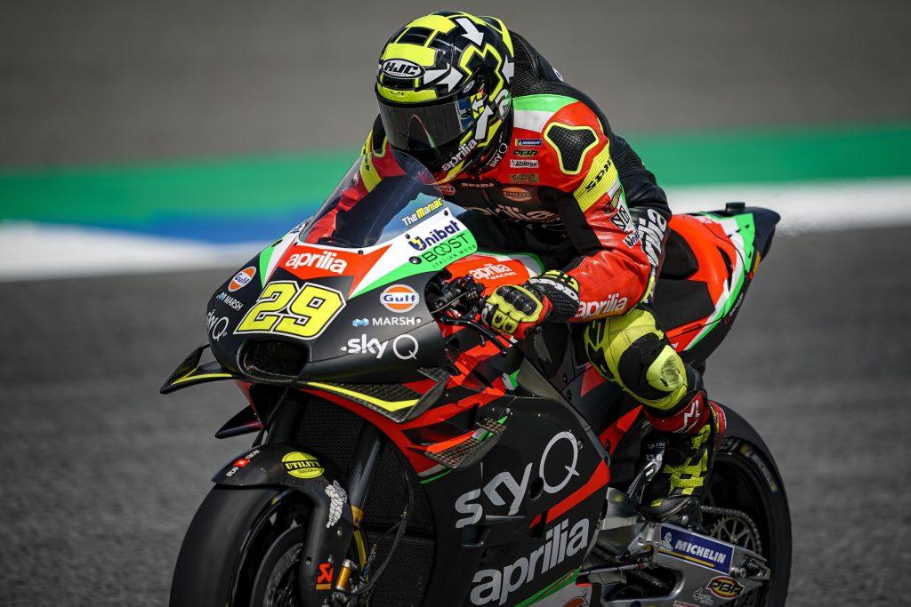 QUARTA E SESTA FILA PER LE APRILIA NEL GP DI THAILANDIA - Gresini Racing