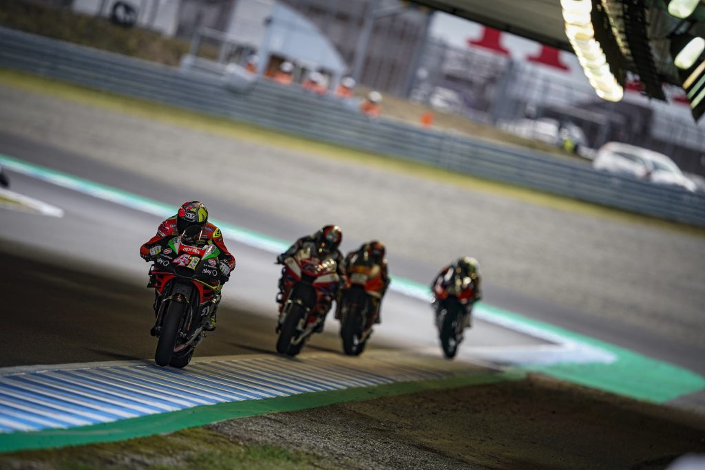 TWO TECHNICAL PROBLEMS COMPROMISE ALEIX'S AND ANDREA PERFORMANCE - Gresini Racing