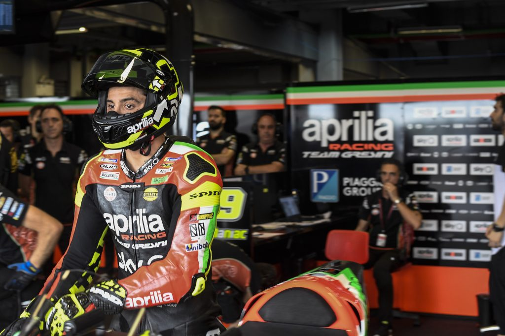 APRILIA AT THE MOTEGI TWIN RING TO CONFIRM THE PROGRESS OF THE LAST TWO RACES - Gresini Racing