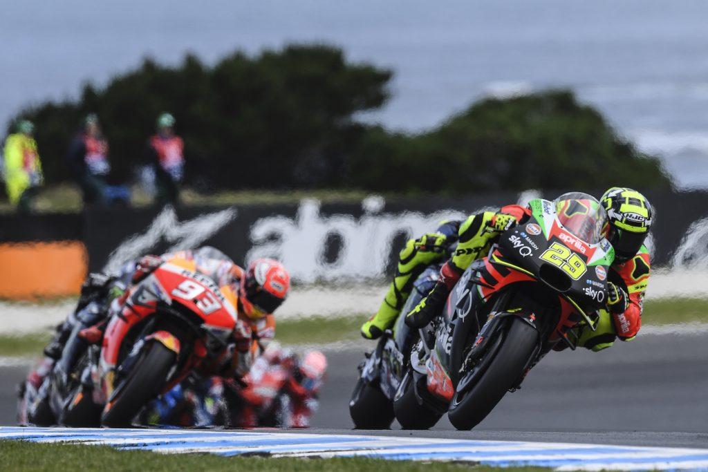 IN AUSTRALIA DUE APRILIA IN TOP TEN CON ANDREA SESTO E ALEIX DECIMO - Gresini Racing