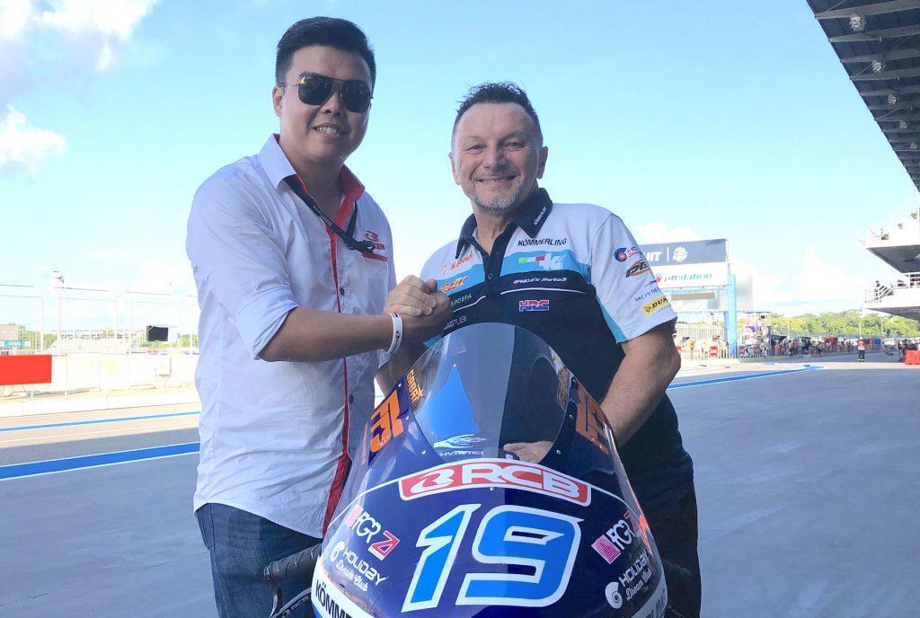 RCB CONFIRMS TRUST IN KÖMMERLING GRESINI MOTO3 PROJECT   - Gresini Racing