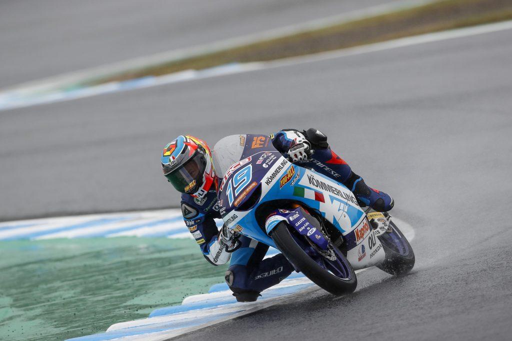 RODRIGO TROVA LA TOP10 NELLE QUALIFICHE BAGNATE DI MOTEGI   - Gresini Racing