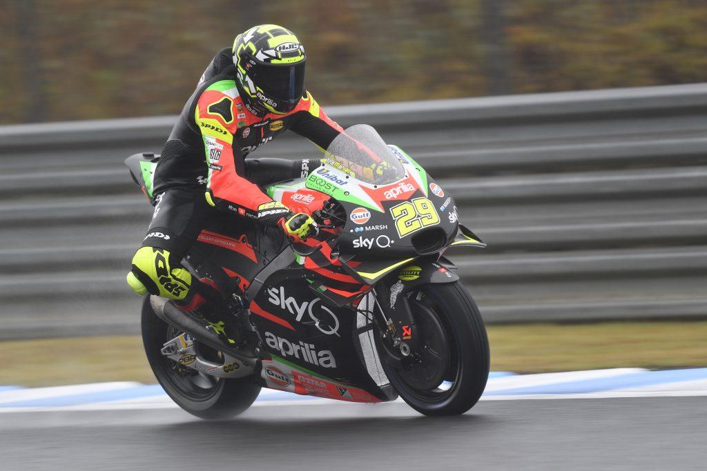 ALEIX ESPARGARÒ RIDES HIS APRILIA RS-GP TO THE THIRD ROW AT MOTEGI - Gresini Racing