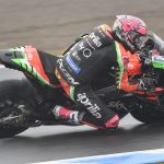 ALEIX ESPARGARÒ RIDES HIS APRILIA RS-GP TO THE THIRD ROW AT MOTEGI