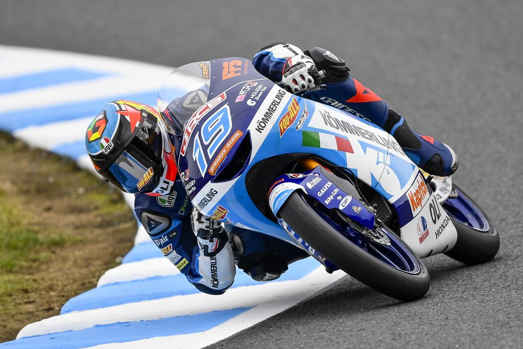 A POSITIVE FRIDAY AT MOTEGI FOR TEAM KÖMMERLING GRESINI MOTO3 - Gresini Racing