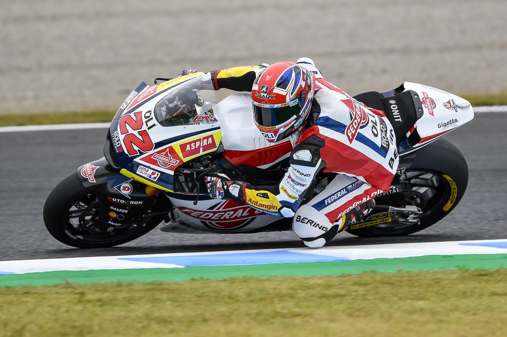 LOWES OUT OF LUCK AT MOTEGI - Gresini Racing