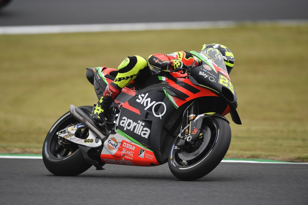 PROVISIONAL Q2 FOR ALEIX AFTER A GOOD FIRST DAY OF PRACTICE IN JAPAN - Gresini Racing