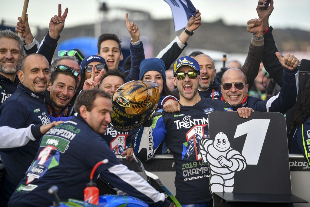 ADESSO SÌ: #FERRAR1 È CAMPIONE - Gresini Racing