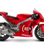 THE APRILIA RS-GP MACHINE RETURN TO THE (RED) LIVERY FOR THE VALENCIA RACE TO SUPPORT THE BATTLE AGAINST HIV/AIDS