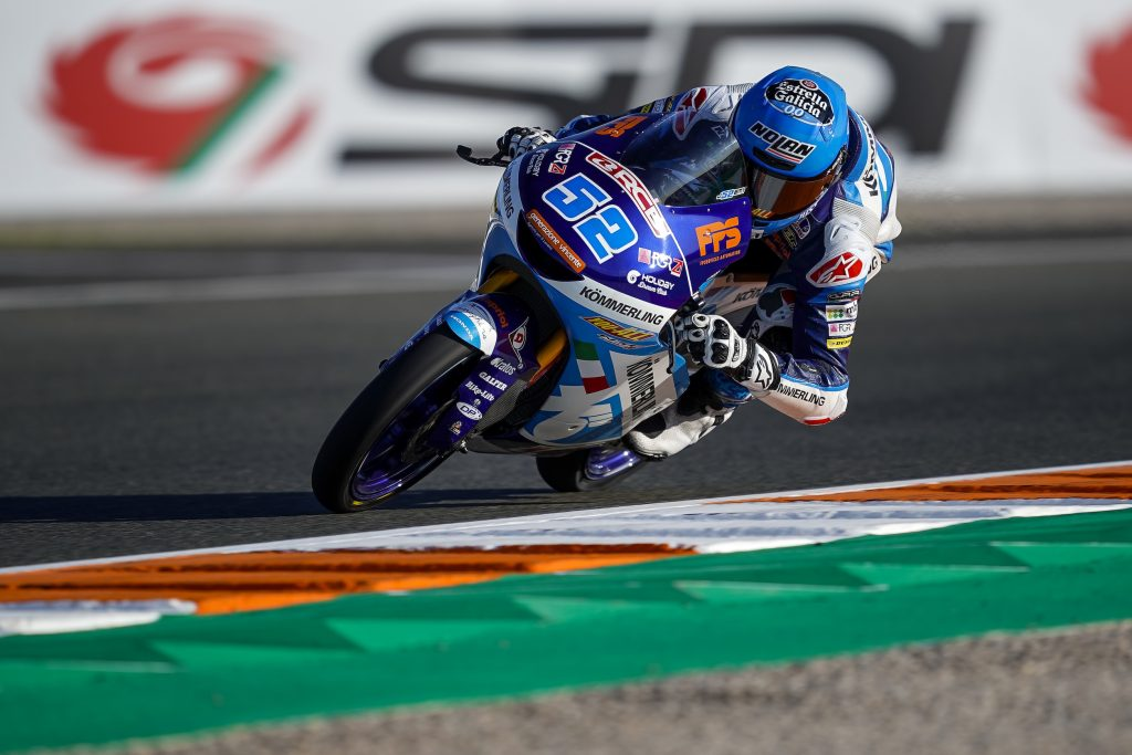 ALCOBA E ROSSI SUGLI STESSI TEMPI NELLE LIBERE DI VALENCIA - Gresini Racing