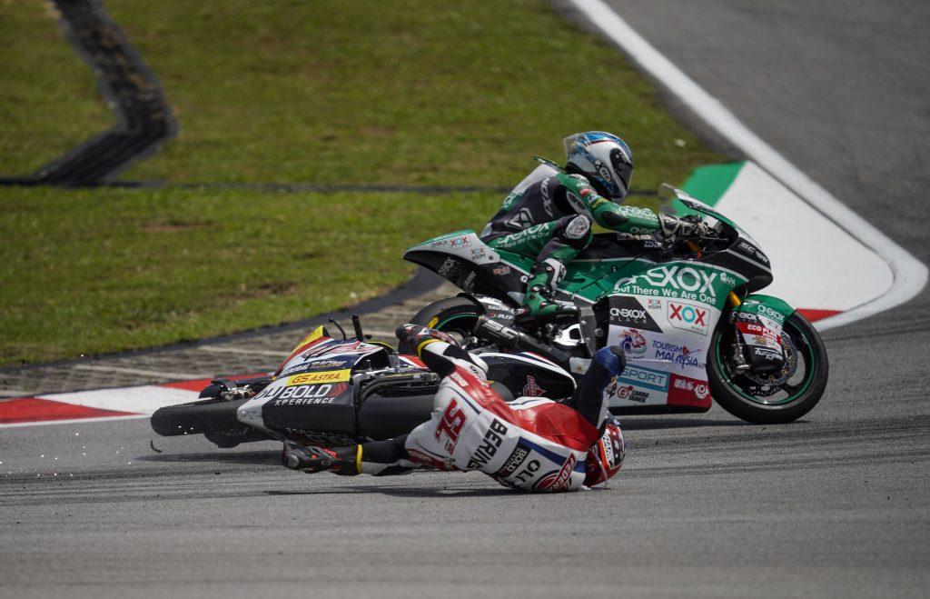 LOWES A MANI VUOTE ANCHE A SEPANG   - Gresini Racing