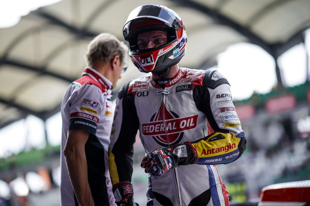 LOWES FINALLY ON A ROLL AS HE FINISHES 7TH IN SEPANG QUALIFYING   - Gresini Racing