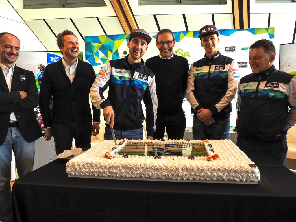 GRESINI AND TRENTINO TOGETHER ALSO IN 2020    - Gresini Racing