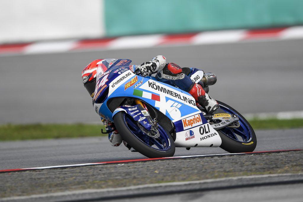 POSITIVA TERZA FILA PER RODRIGO IN MALESIA   - Gresini Racing