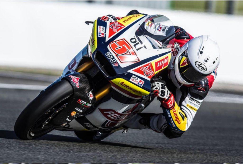 MOTO2 RADDOPPIA, DELTOMED A BORDO - Gresini Racing