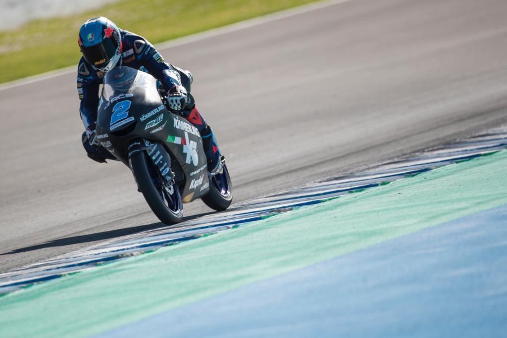 RODRIGO TOPS MOTO3 TEST AT JEREZ DE LA FRONTERA   - Gresini Racing