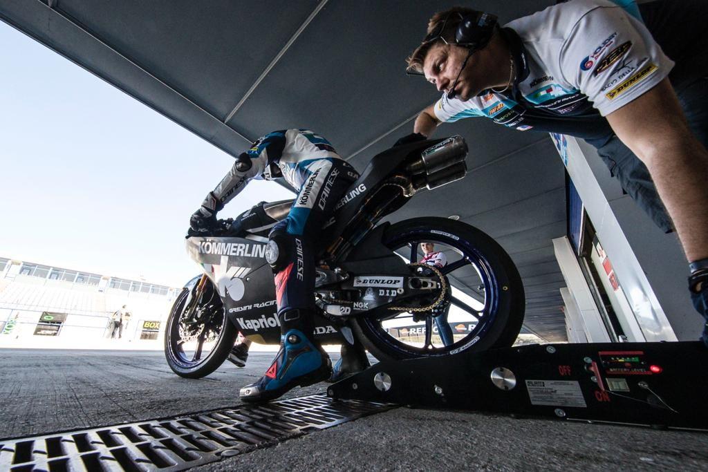 RODRIGO COMANDA I TEST MOTO3 DI JEREZ DE LA FRONTERA   - Gresini Racing