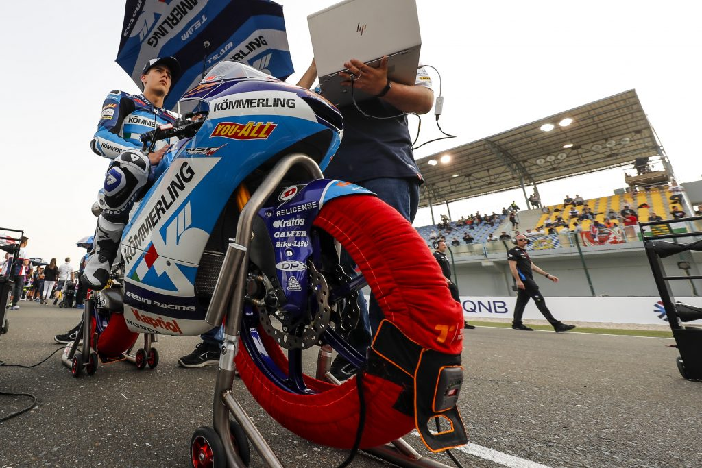 TEAM KÖMMERLING GRESINI MOTO3 CLOSE TO JACKPOT IN QATAR    - Gresini Racing