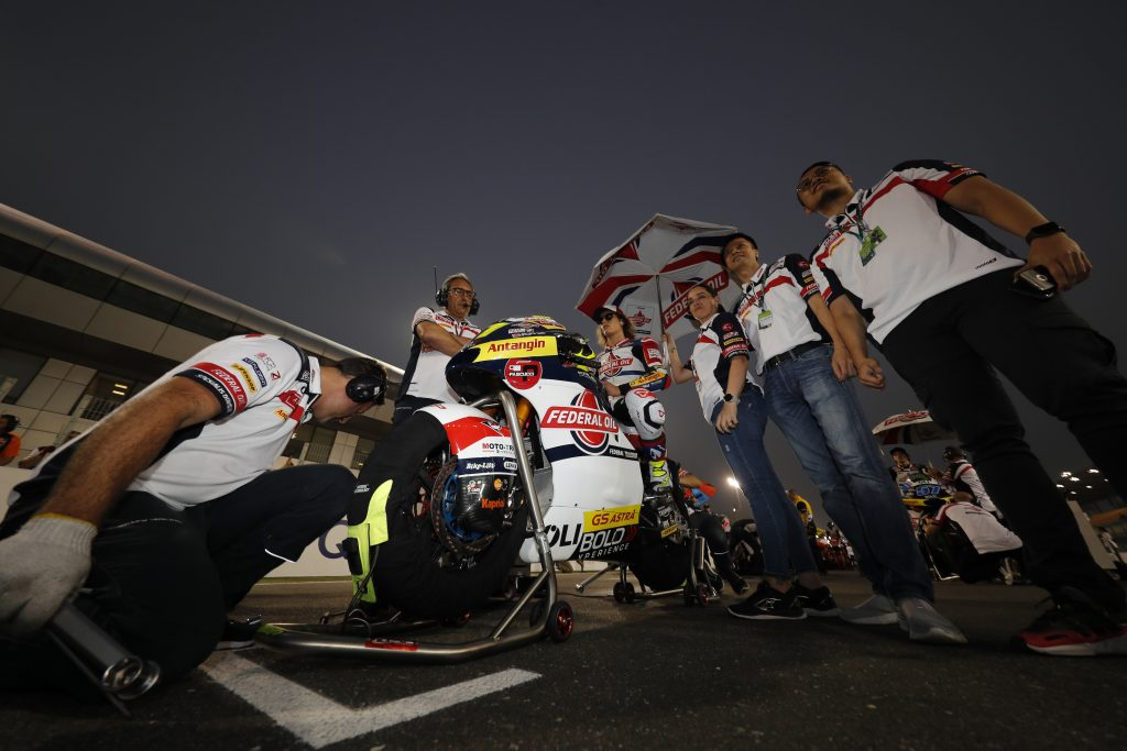 DISAPPOINTING DEBUT FOR TEAM FEDERAL OIL GRESINI MOTO2 AT LOSAIL    - Gresini Racing