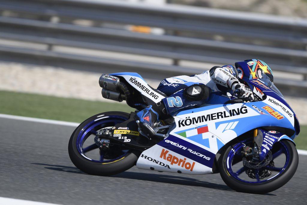 PARTENZA IN SALITA PER IL TEAM KÖMMERLING GRESINI MOTO3 A LOSAIL - Gresini Racing