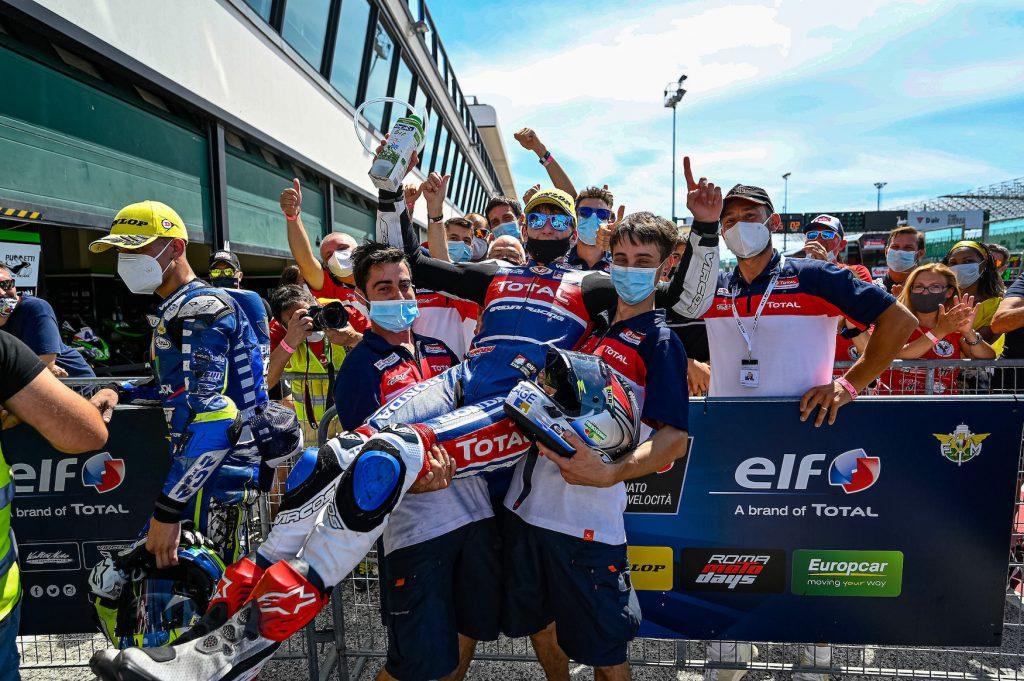 100 su 100: ZANNONI FA IL CANNIBALE A MISANO - Gresini Racing