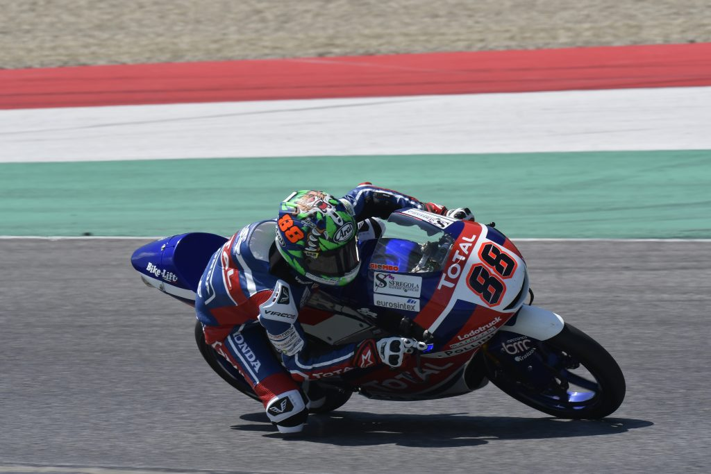MISANO SECONDA TAPPA PER IL TOTAL GRESINI JUNIOR TEAM    - Gresini Racing