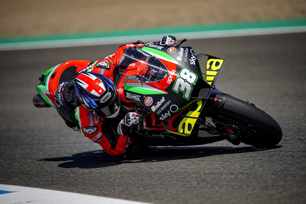 ALEIX JUST MISSES Q2 AND WILL START ON THE SIXTH ROW, BUT WITH A GOOD PACE - Gresini Racing