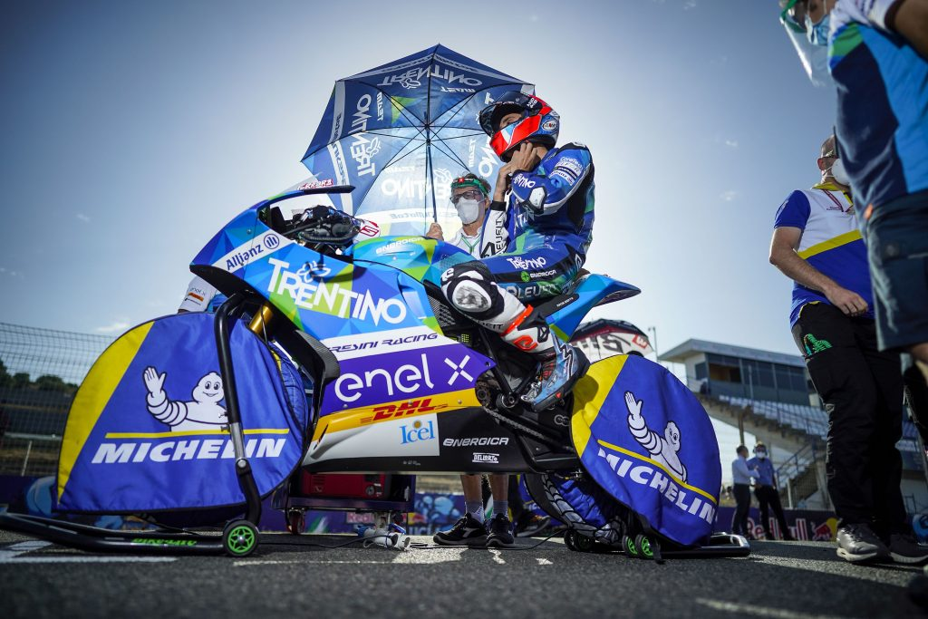 TURN SIX TURNS TRENTINO GRESINI'S RACE TWO INTO NIGHTMARE AT JEREZ     - Gresini Racing