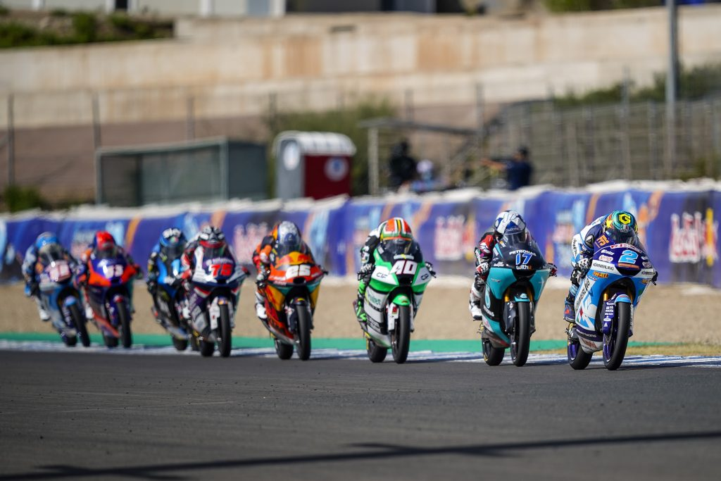 TEAM KÖMMERLING NEAR THE FRONT IN ANDALUSIA    - Gresini Racing