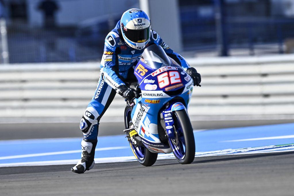 RODRIGO MIGLIOR TEMPO E RECORD DELLA PISTA, ALCOBA IN TOP5 - Gresini Racing