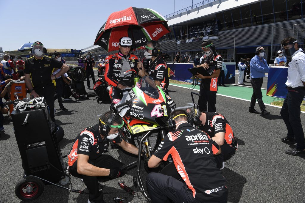 BRADLEY BRINGS HOME THE FIRST POINTS FOR THE 2020 APRILIA RS-GP - Gresini Racing