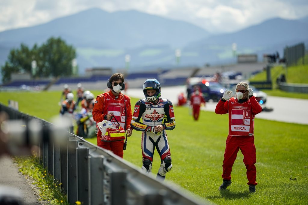 DOMENICA DA DIMENTICARE PER IL TEAM FEDERAL OIL GRESINI MOTO2   - Gresini Racing