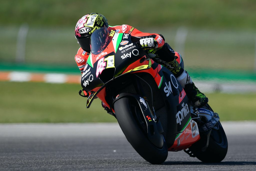 ALEIX SEVENTH AND PROVISIONALLY IN Q2 AFTER THE FIRST PRACTICE SESSIONS AT BRNO - Gresini Racing