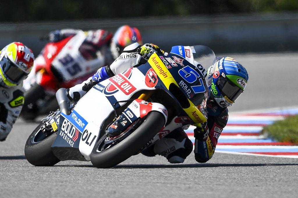 BULEGA E PONS CON AMPI MARGINI IN VISTA DEL SABATO CECO   - Gresini Racing