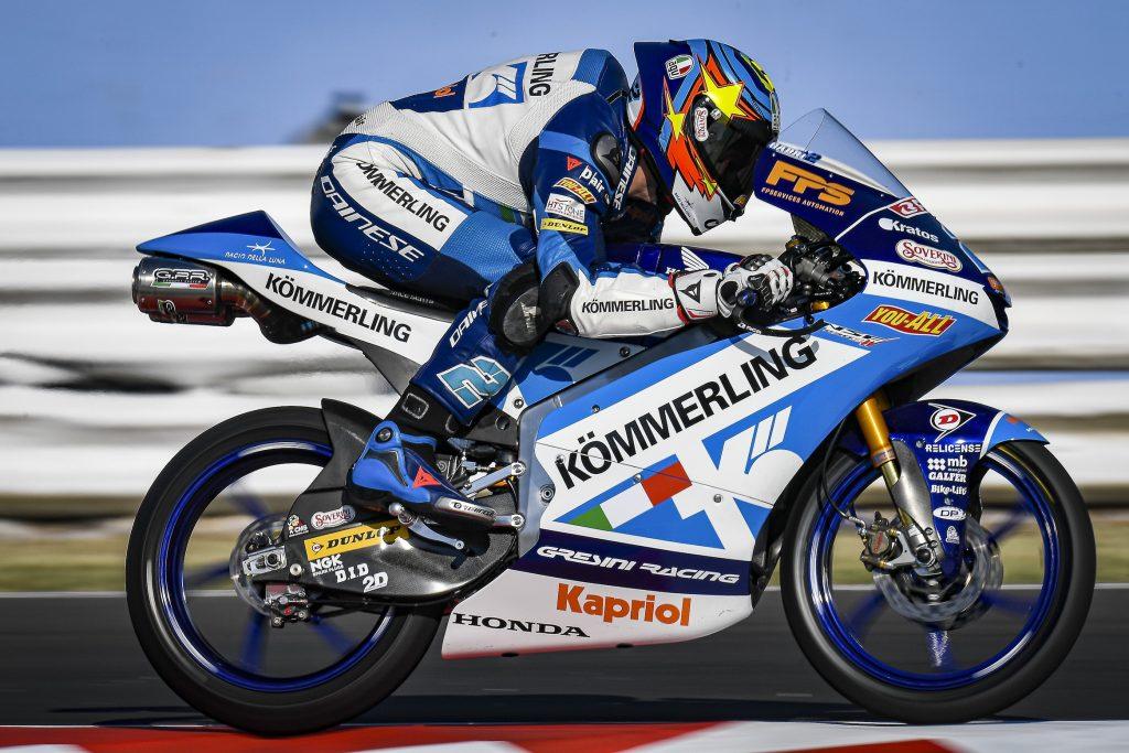 #SANMARINOGP: RODRIGO PRIMA FILA, ALCOBA OTTAVO   - Gresini Racing