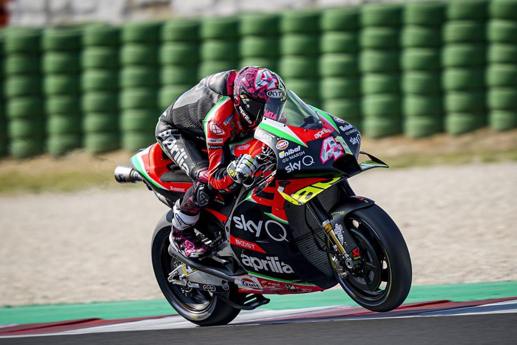 SESTA E SETTIMA FILA PER ESPARGARO' E SMITH NEL SECONDO GP A MISANO - Gresini Racing